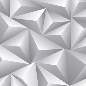 Fondo de triángulos tridimensional