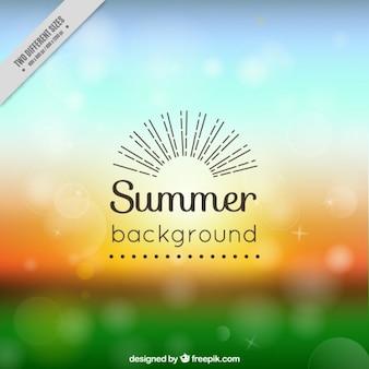 Fondo de verano abstracto