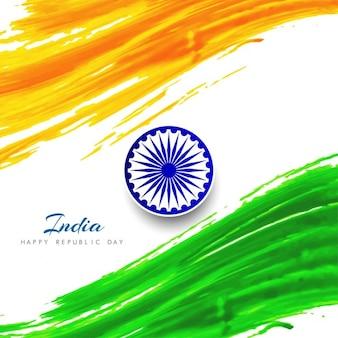 Fondo del día de la república de la india