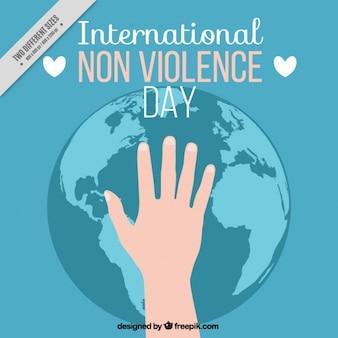 Fondo del día internacional contra la violencia