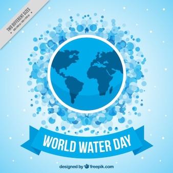 Fondo del día internacional del agua