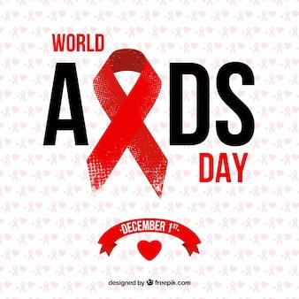 Fondo del día mundial contra el sida