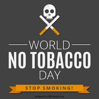 Fondo del día mundial contra el tabaco