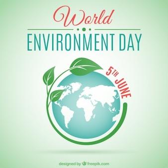Fondo del día mundial del medioambiente