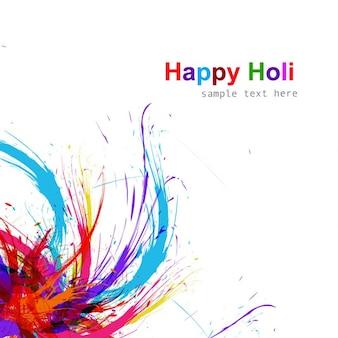 Fondo del festival de Holi