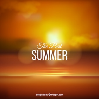 Fondo del mejor verano