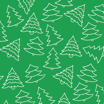 Fondo del modelo del árbol de navidad