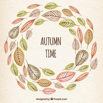Fondo del tiempo de otoño