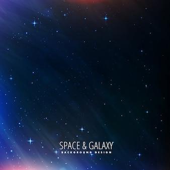 Fondo del universo de cielo de noche