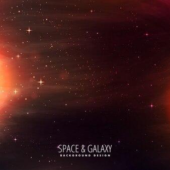 Fondo del universo lleno de estrellas