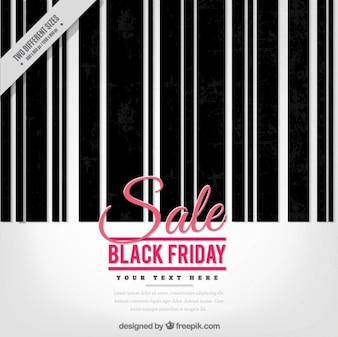 Fondo del viernes negro con un código de barras
