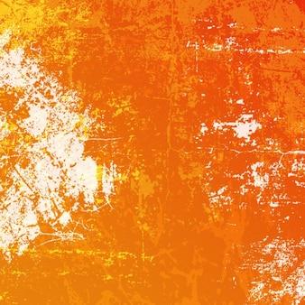 Fondo desgastado naranja