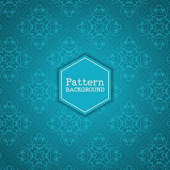 Fondo elegante con patrón decorativo
