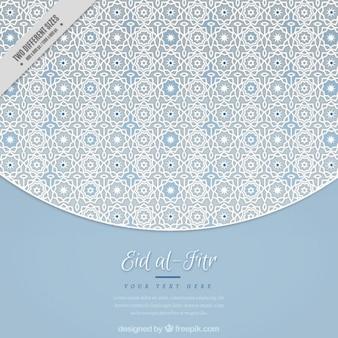 Fondo elegante geométrico de eid al-fitr