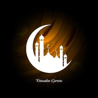 fondo elegante ramadan kareem