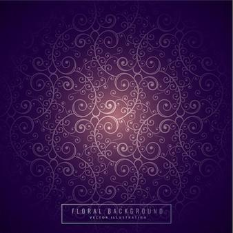 Fondo floral púrpura
