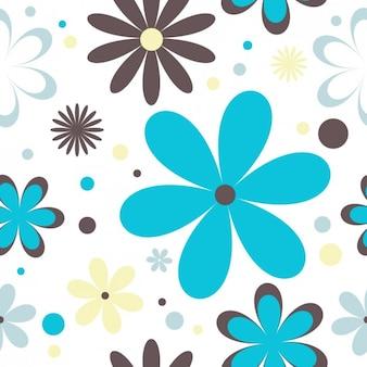 Fondo floral retro