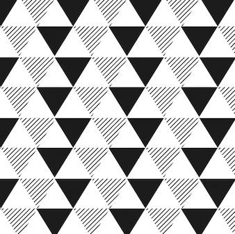 Fondo geométrico con triángulos y rayas