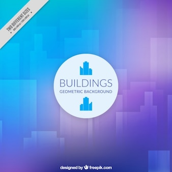 Fondo geométricos de edificios