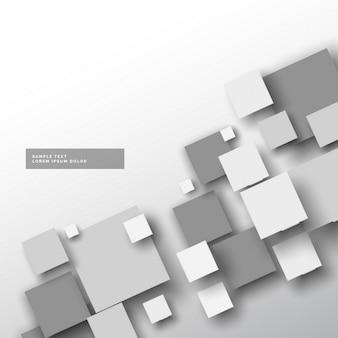 Fondo gris con cuadrados