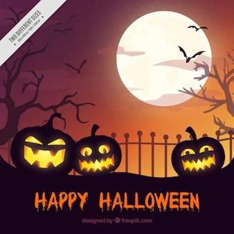 Fondo halloween feliz