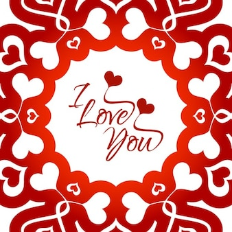 Fondo hermoso de amor