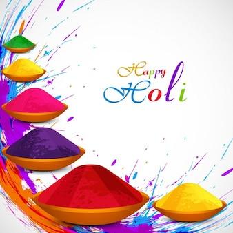 Fondo hermoso del festival de Holi