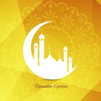 Fondo islámico hermoso