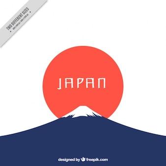 Fondo japonés minimalista