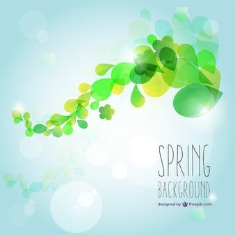 Fondo luminoso de primavera