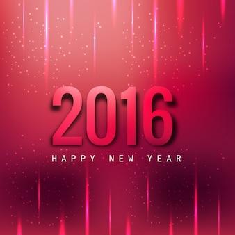 Fondo magenta de Feliz año 2016