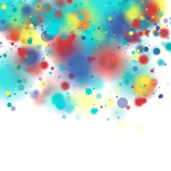 Fondo manchado de color
