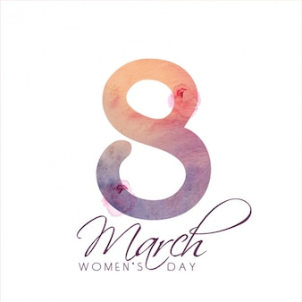 Fondo minimalista para el día de las mujeres