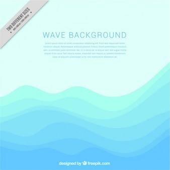 Fondo moderno con olas abstractas