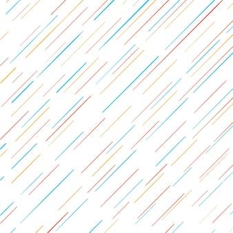 Fondo moderno de líneas coloridas