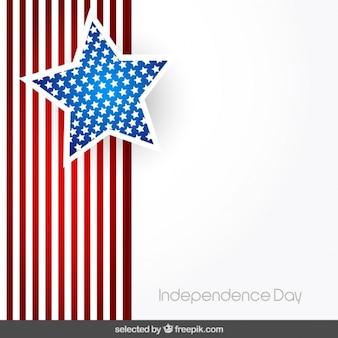 Fondo moderno del día de la independencia