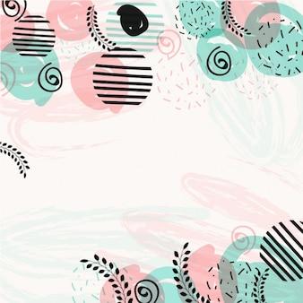 Fondo moderno en colores pastel