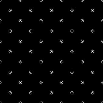 Fondo negro con pequeños círculos blancos