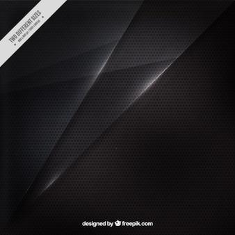 Fondo negro de textura metálica