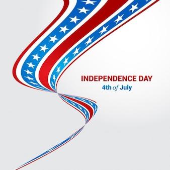 Fondo patriótico para el cuatro de julio