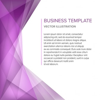 Fondo poligonal abstracto púrpura