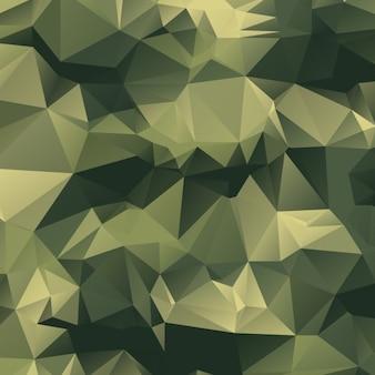 Fondo poligonal de camuflaje