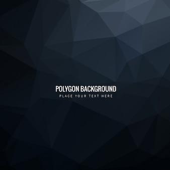 Fondo poligonal moderno