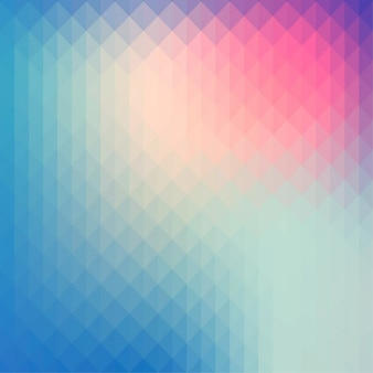 Fondo poligonal multicolor