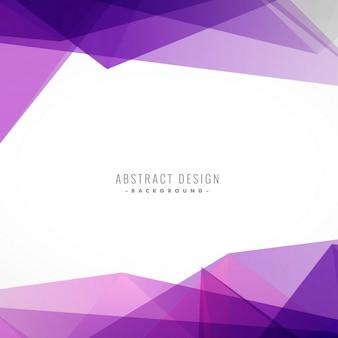 Fondo poligonal violeta