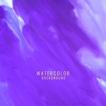 Fondo púrpura con textura de acuarela