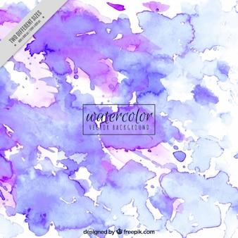 Fondo púrpura en acuarela