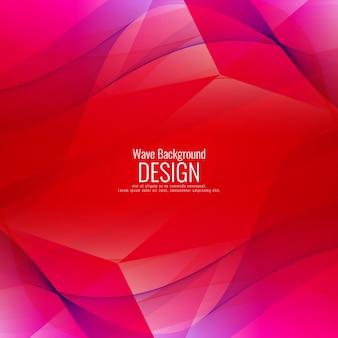 Fondo rojo y morado con formas onduladas