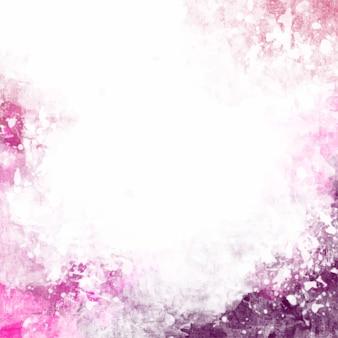 Fondo rosa artístico de acuarela