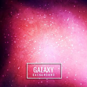 Fondo rosa de galaxia